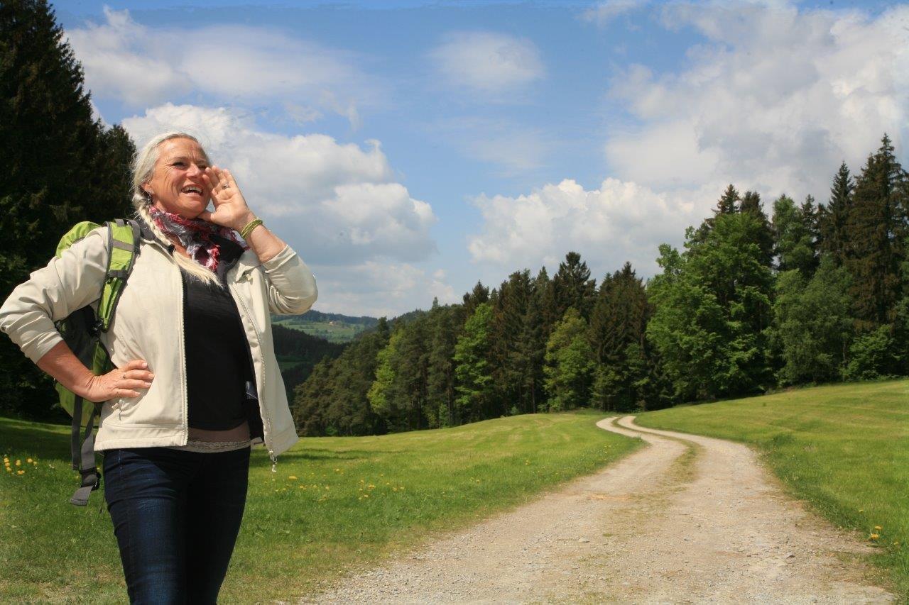 Wandern und Singen im Grünen Band Europa mit Monika Holzmann